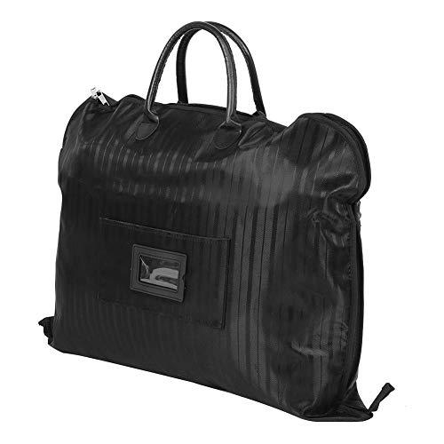 YYRL Business Suit Bag Waterproof Business Suit Travel Storage Bag Garment Hanging Clothes Protector Carrier (黑色)