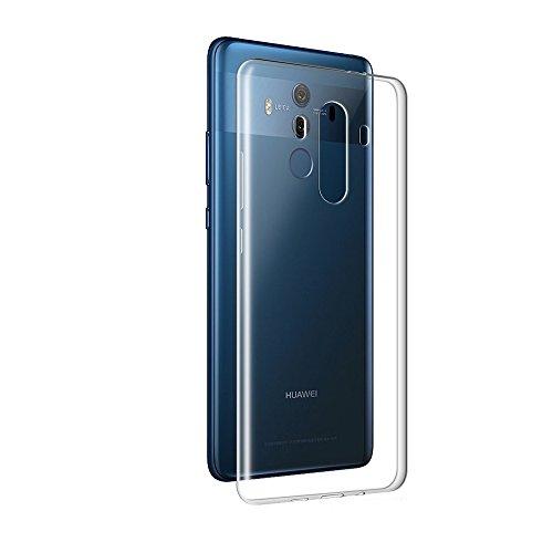 Gosento Huawei Mate 10 Pro Hülle TPU Case, Soft Flex Silikon Crystal Ultra Dünn Clear Schutzhülle Cover für Huawei Mate10 Pro (Transparent) EINWEG - 2