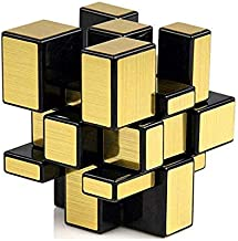 Kids Dukaan 3*3*3 Golden Puzzle mirroring Magical Cube