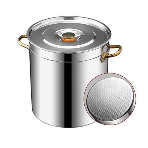 Pottiquí, 10-70L, Comercial, 304 Cubo De Sopa De Acero Inoxidable, Cubo De...