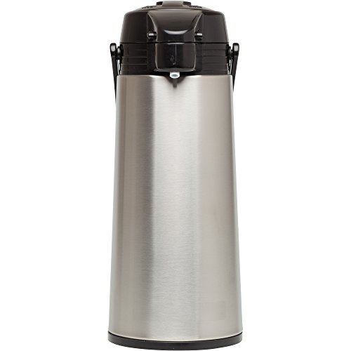 Aladdin 10-01424-004 64oz Glass-lined 64 oz Stainless Steel Vacuum Insulated Air Pot