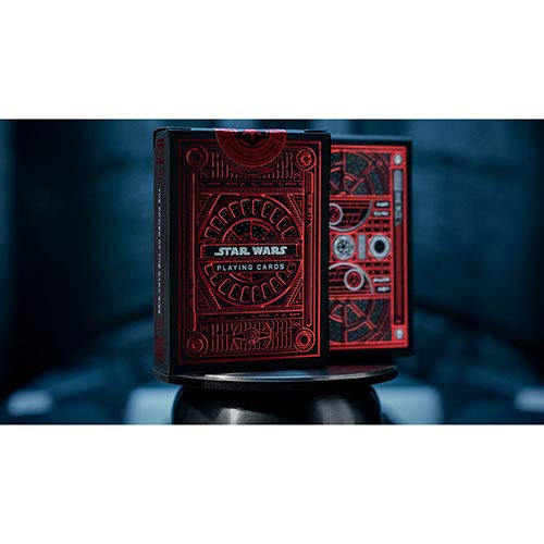 SOLOMAGIA Star Wars Dark Side (RED) Playing Cards by Theory11