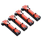 DCYGFS 4 Pack Pack Coche Safety Hammer Antiskid Car Emergencia...