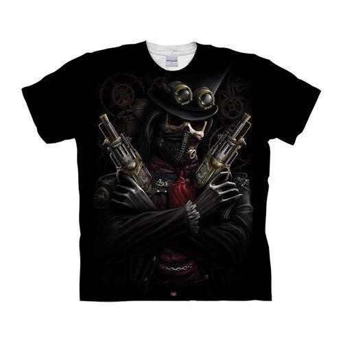 T Shirt Skull Tshirts 3D T Shirt Men T-Shirt Streatwear Tee Top Short Sleeve Hip Hop XXXL Tx1038