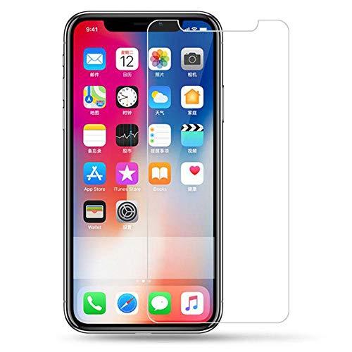 3 piezas Vidrio templado 9H HD, para iPhone X 10 8 7 11 Pro 6s 6 5 5s SE 4S Película transparente de vidrio de pantalla, para iPhone 11 XS XR Max 7 Plus-Para iPhone 6 6s