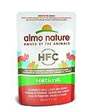 Almo Nature Cat HFC Natural Salmón y Calabaza