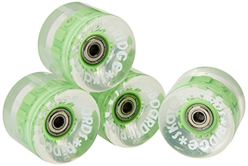Ridge Cruiser Rollen Skateboard Blaze LED Leuchtrollen Mini Räder, Multi, R-BLAZE-LED