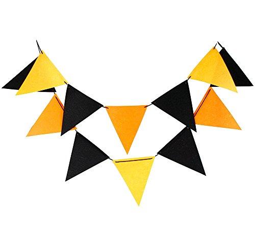Lumanuby 1 Lot de fanions Bannière Motif chouette classique Banderole de mariage d'anniversaire enfant de Noël Drapeau Décoration de fond de fêtes de fête, Style 2, 17*17cm