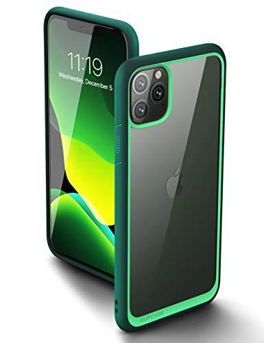 SupCase iPhone 11 Pro Hülle Slim Case Premium Handyhülle Transparent Schutzhülle Dünn Backcover [Unicorn Beetle Style] 5.8 Zoll 2019 Ausgabe (Grün)