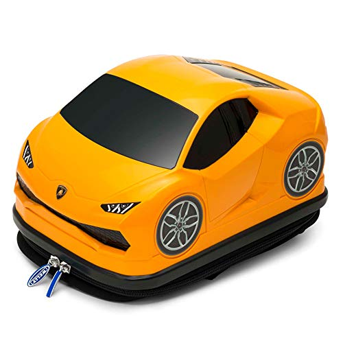 Ridaz Kids Travel Gepäck Rucksack - Lamborghini Huracan - Orange