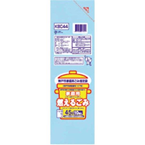 神戸市 缶・瓶・ペットボトル30L10枚入透明KBC35 【まとめ買い(60袋×5ケース)合計300袋セット】 38-610