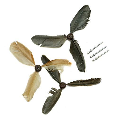 IMAGO ERSATZFEDERN BZW. Schwanzfedern für Windspiel Propeller Flattermöwen Flattervögel Möwen