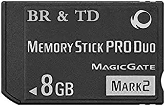 BR & TD 8GB Pro Duo (Mark 2) Memory Stick for PSP