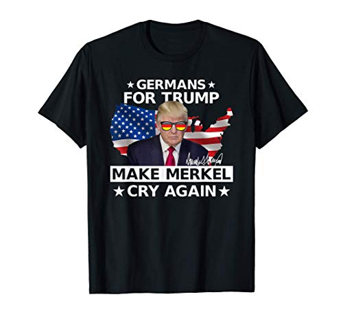 Germans For Trump MAGA Donald Trump 2020 Wahlen Geschenk T-Shirt