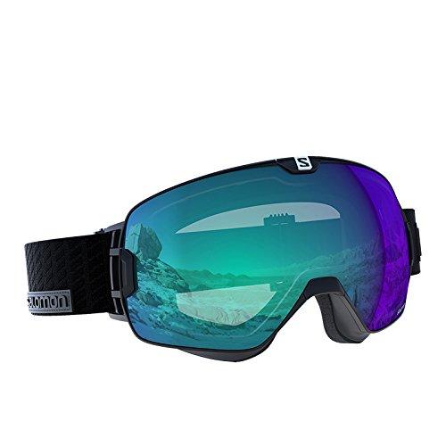 SALOMON(サロモン)XMAX PHOTO 大人用 スキーゴーグル スノーゴーグル L39060800 Black F