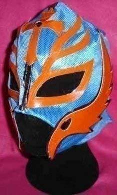 Rey Mysterio Ray Color Will Variar Mscara para Disfraz Estilo Replica Lucha Libre Wwe Maske Cremallera para Fiesta de Nio o Adulto Disfraz Rey Mexicano Infantil Nios Traje de la Wwf
