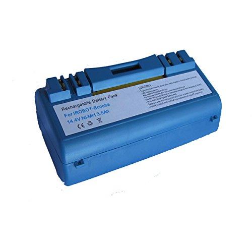 7XINbox 14.4V 3500mAh Batteria di ricambio per iROBOT Scooba 330/350 / 380/385 / 390/5800 / 5900/590 / 5930/5999 / 6000/6050