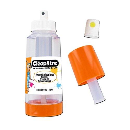Colles & Couleurs Cléopâtre Aéro'Ink : Aérosol Rechargeable + 1 buse Spray élargi -Vaporisateur sans gaz