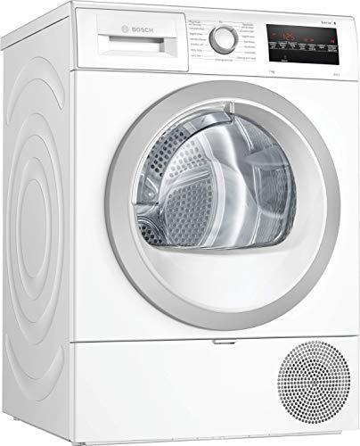 Bosch WTR87440 Serie 6 Wärmepumpen-Trockner / A+++ / 176 kWh/Jahr / 8 kg / Weiß mit Glastür / AutoDry / EasyClean Filter / AntiVibration™ Design