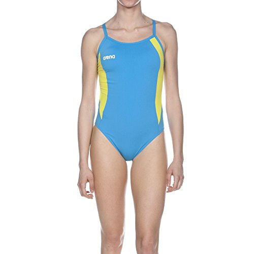 arena W Directus Challenge Back One Piece Turquoise,Soft_Green, Size 38