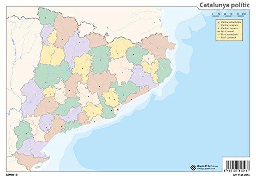 Grupo Erik Editores Mapa Mudo Catalunya Politico