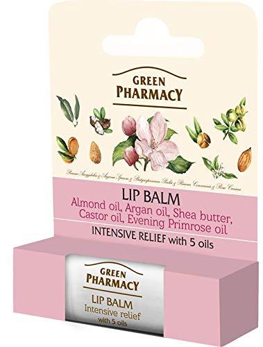 Elfa PHARM Green Pharmacy Labios Bálsamo arganöl + macadamiaöl Intensivo pflegende, SPF 105ml