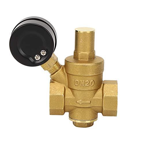 Regulador de presión simple, 16 Kg/cm² Perilla de ajuste Reductor de presión DN20 con latón