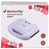 Butterfly BSWR17 750-Watt Sandwich Maker (White)