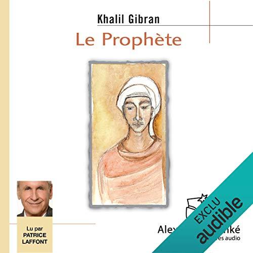 Le prophète audiobook cover art