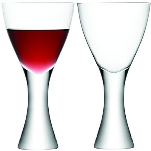 LSA International Elina - Lot de 2 Verres à vin et Eau, clairs, Claire, Wine Goblet 500ml