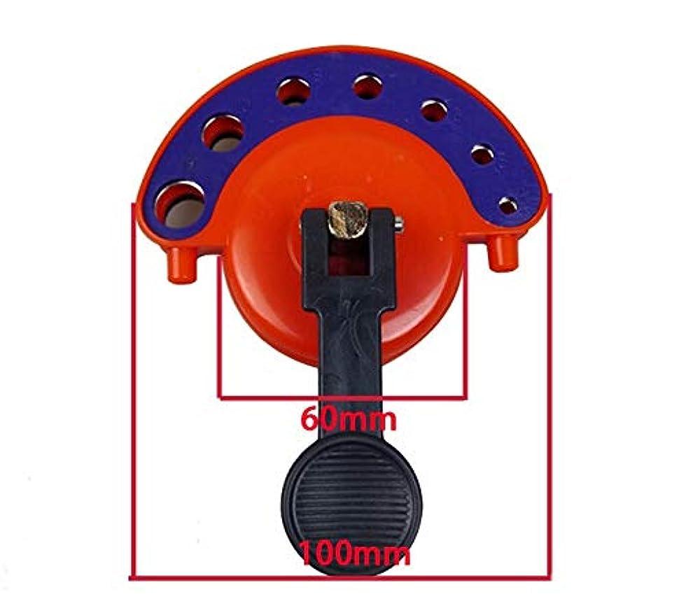 クランシー彼らは噛む4 mm-12 mmガラスタイルの穴ダイヤモンドドリルガイド開口部付きベースガラスタイル真空ポンプロケーター