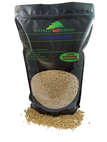 Japanese Kiryu Bonsai Soil - Sifted and Ready to Use - Premium Substrate Imported from Japan