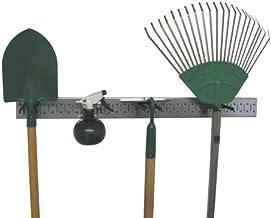 product image for Metal Pegboard Strip Garden Tool Organizer Pegboard Rail Kit