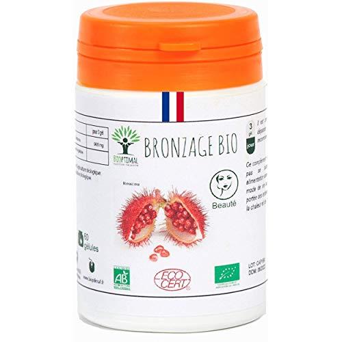 60 gélules Autobronzant naturel Bio fabriqué en France