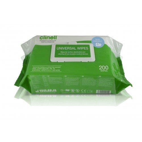 Toallita de desinfección universal de MinEll, Paquete de 200