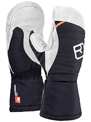 ORTOVOX Herren Swisswool Freeride Mitten Handschuhe, Black Raven, L