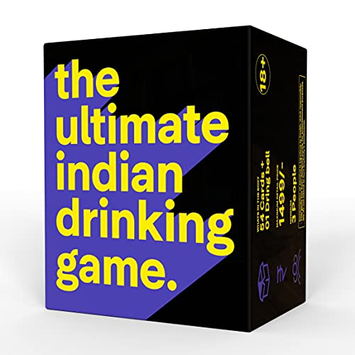 Dring: The Ultimate Indian Drinking Game – The Best Party Game of India