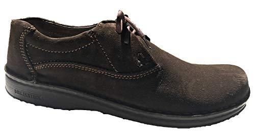 Birkenstock Handnaht-Schuhe ''Memphis'' aus echt Leder in Mocca 45.0 EU S