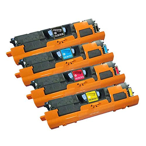 Adecuado para Canon CRG-101 CRG-301 CRG-701 Cartucho de tóner compatible, Canon LBP5200MF8180C Impresora compatible con cartucho de tóner, colores Número de páginas