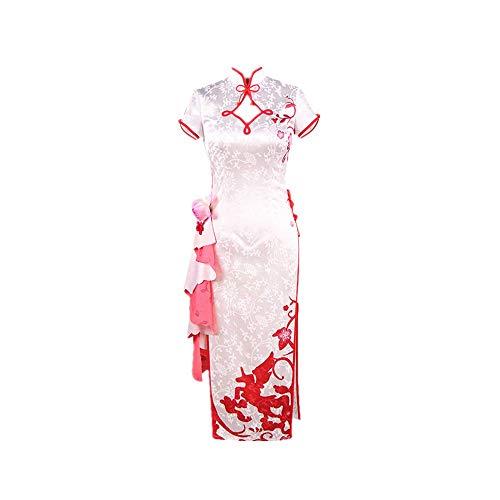 JLCYYSS 6PCS Spiel Azur Lane HMS Einhorn Neuheit Cosplay für Partykostüme Chinesische Tradition Cheongsam Kleid Anzüge für Frauen Geschenk Hohe Qualität