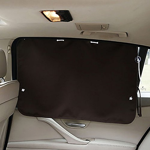 Folding Sunshades Car Sunshade Sunscreen Blackout Curtain Window Rear...