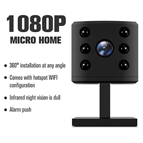Mini cámara WiFi, Oficina doméstica Nanny...