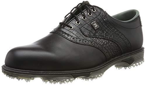 Footjoy Herren DryJoys Tour Golfschuhe, Schwarz (Negro 53717), 44.5 EU