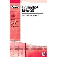 アルフレッド00-27121 Mary-メアリー持っていた-Aでも一人っ子 - ミュージックブック