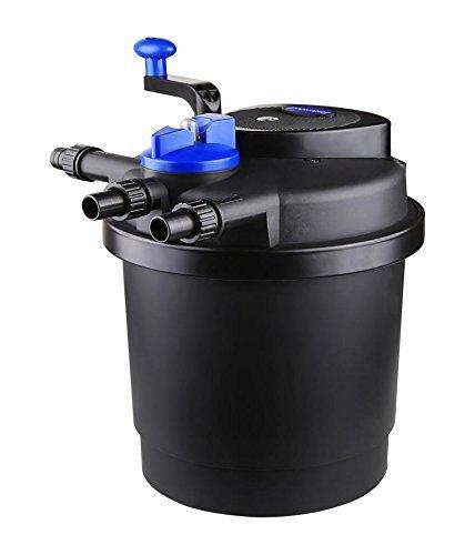 SUN CPF-2500 Grech Pond Bio Pressure Filter, UVC Upto 1600 gal, 13W
