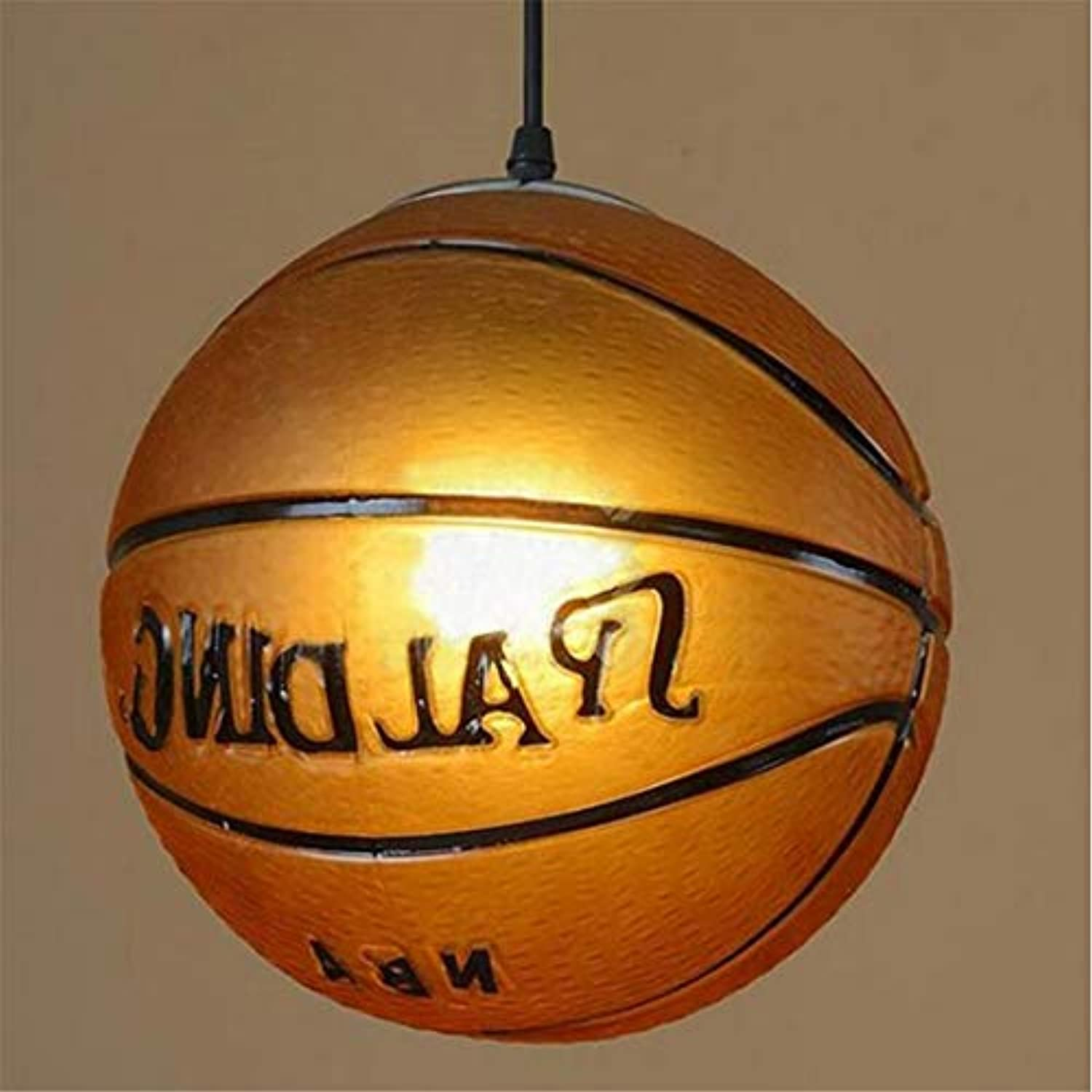 Nachttisch Lampretro Creative Basketbchandelier Lampe Bar Sport Bühne Dekoration Kronleuchter