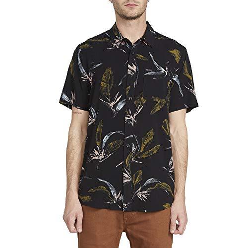 Volcom Faxer Floral Short Sleeve Black SM