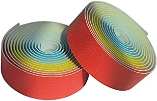 Bike Handlebar Belt Leather Road Tape Anti Slip Grips Adhesive Tape 1Pair 2.16M