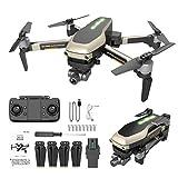 Drone Plegable, quadrocopter controlado por GPS con cámara 4K HD...