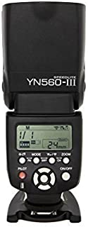 Yongnuo Flash Camera YN-560 III YN560III for Canon Nikon Olympus Panasonic + WINGONEER Diffuser